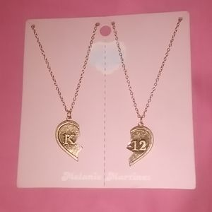 Melanie Martinez best friend necklace